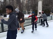 Middle School Incentive Trip to Millennium Park Ice Skating Rink