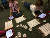 Small Group Math Work