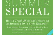 Host a Trunk Show - Get $50 Free!