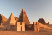 The second capital of Kush, Meroe