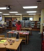 Mrs. Smith browsing for Kinder