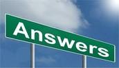 Organized Answers