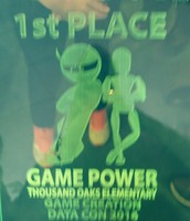 1st PLACE!  GAME POWER