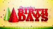 December Birthdays!