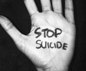 SUICIDE IS THE THIRD LEADING CAUSE OF DEATH AMONGST TEENAGERS