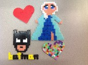 Hearts, Elsa, and Batman