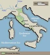 Etruscan Civilization Location