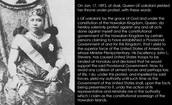 Queen liliuokalani's speech