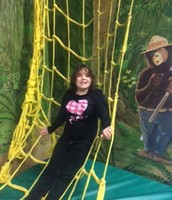 Aleisha at the Adventure Center- YMCA