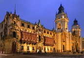 Archbishops palace of Lima