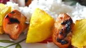Hawaiian Chicken Kabobs
