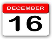 Videos are due on Friday, December 16, 2016.