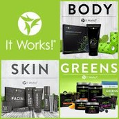We offer Lifestyle, Skin Care and GREENS!!!