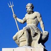 Roman God of the sea