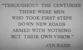 What was Ayns philosophy?