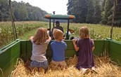 Hay Rides from Noon to 3:00pm