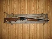 deer antler gun holder