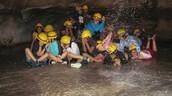 ¡En la cueva!