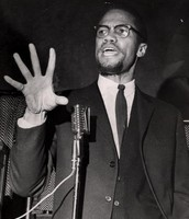 Malcolm X Shows Passion During His Speech