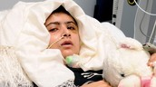 Malala got shot in the head and neck multiple times