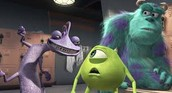 Randall taunting Mike and Sully