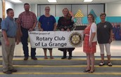 The La Grange Rotarians Sponsor a Portion of Early Act First Knight