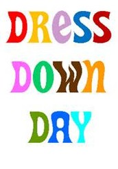 Dress Down Day-Monday, February 8th