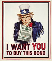 Uncle Sam was used to try to get people to buy bonds