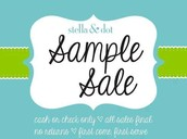 Pick a sample item for free if you book a trunk show!!!