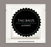 Ask for a TAG Bag!
