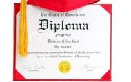 Diploma!