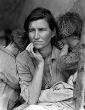 People in Great Depression