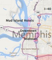 The largest city in tennessee memphis