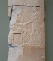 Gravestone of Mynnia