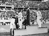 Jesse Owens won four gold medals at the 1936 Berlin Olympic Games.