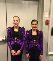 Me and my dance friend Elise!
