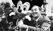 picture of Walt and mickey mouse