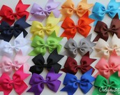 we sale bows for you to buy that are handmade!