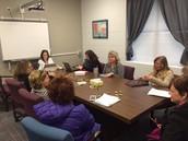 Literacy Team Working Hard!