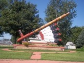 This is the biggest peace pipe in the world