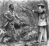 Nat Turner being captured