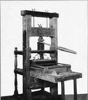 1) Printing Press