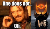 Boromir spotted simply walking into Mordor