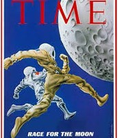 Time's Cover Celebrating the Space Race