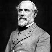 General Robert E. Lee of the Confederacy.