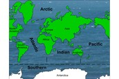 A snapshot of all five oceans