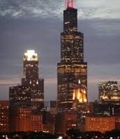 Willis Tower Night Time