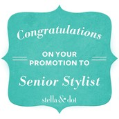 Look who promoted to Senior Stylist