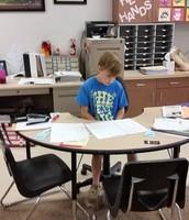 Shadowing a teacher--100 prints