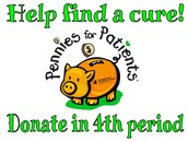 Pennies for Patients/ Pennies (monedas de un centavo) para Pacientes